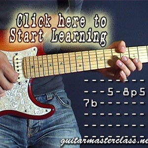 Beginner guitar licks video