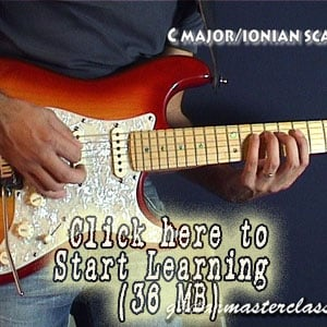 Beginner scales video lesson