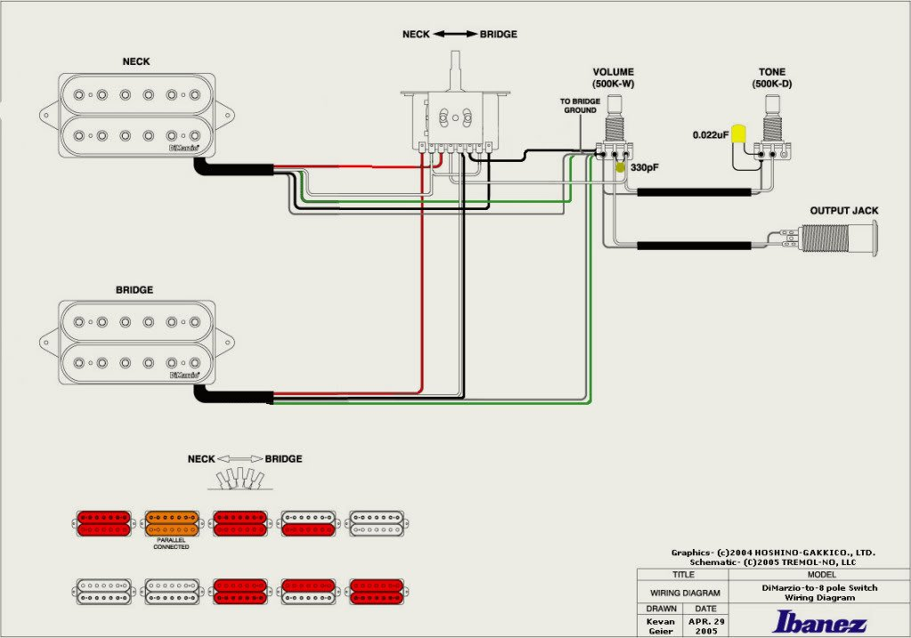 guitar wiring diagram 2 humbucker guitar wiring diagrams