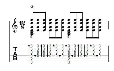 GUITAR CHORDS STRUMMING PATTERN | Design Patterns