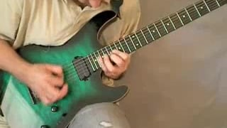 220bpm Speed Metal Shred Solo Lesson