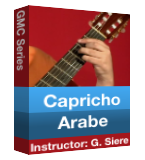 Capricho Arabe part 1 to 3
