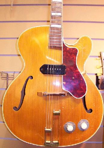An Archtop Epiphone Guitar from the 1940s
