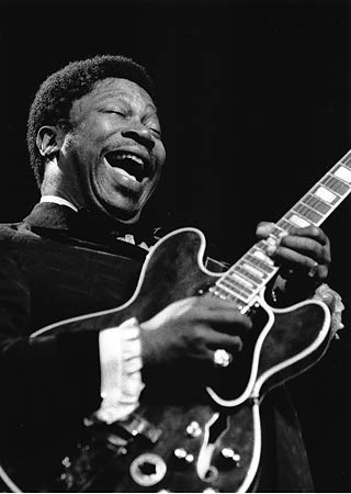 bb king young