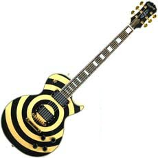 Custom Bullseye Les Paul