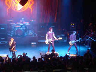 Sum 41 on stage