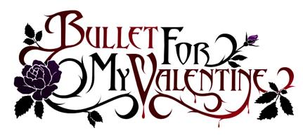 the old logo of Bullet for My Valentine