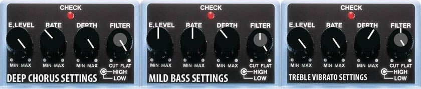 NUX CH 3 Electric Guitar Effect Pedal Chorus Low Noise BBD