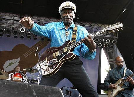 singer Chuck Berry