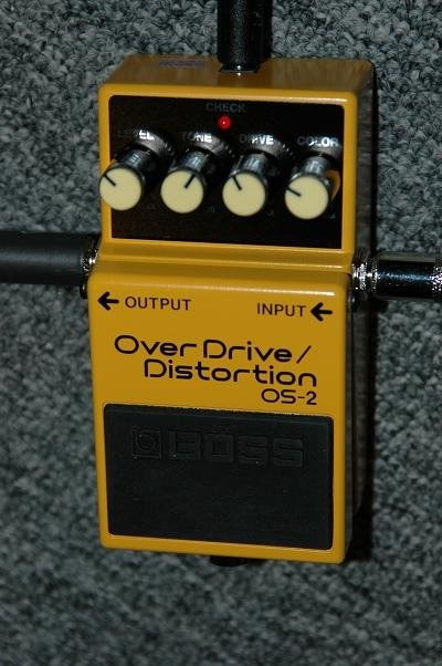Boss Os 2 Overdrive Distortion Review