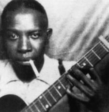 The second known photo of Robert Johnson