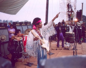 Jimi at Woodstock 1969