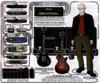 here you can see the rack of the guiarist Billy Howerdel