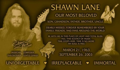 Shawn Memorial Plaque.