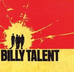 Cover of the Billy Talent I album.