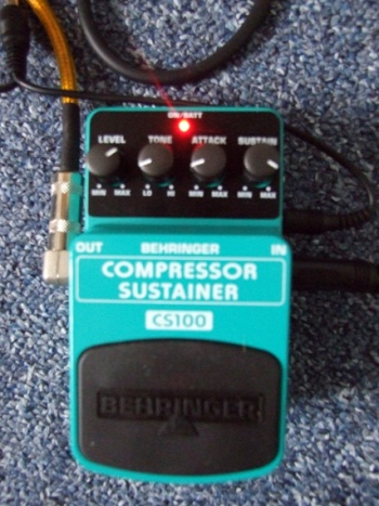 Behringer Compressor Sustainer