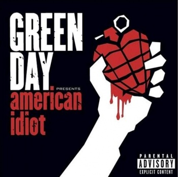 "Cover of the album ""American Idiot"""