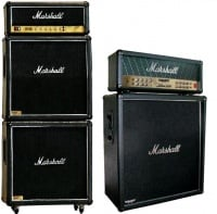a fullstack (left) and a halfstack(right) from Marshall