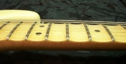 scalloped fingerboard