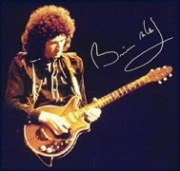 Brian with the 'Red Special'.